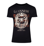 T-shirt Guinness Dog's Head Bottling, Taille L