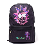 Sac à Dos Rick and Morty Rick's Neon Face Print
