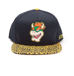 Nintendo casquette hip hop Snapback Bowser Rubber Patch
