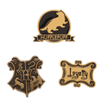 Harry Potter pack 3 badges Hufflepuff
