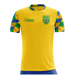 Maillot de Football Brésil Home Concept 2018-2019