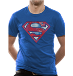 T-shirt Superman - Logo Very Distressed