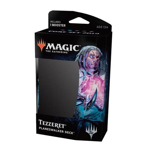 Magic the Gathering Set Base 2019 présentoir de decks de planeswalker (10) *ITALIEN*
