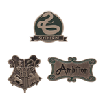 Harry Potter pack 3 badges Slytherin