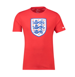 T-shirt Angleterre Football 2018-2019 (Rouge)