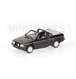 FORD ESCORT III CABRIOLET 1983 BLACK