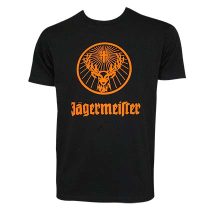 T-shirt Jagermeister - Orange Logo