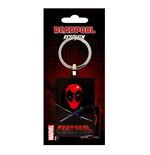 Deadpool porte-clés métal Eye Patch 6 cm