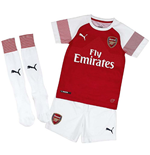 Tenue de football pour enfant Arsenal 2018-2019 Home
