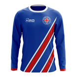 Maillot Manches Longues Islande Football 2018-2019 Home
