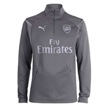 Sweat-shirt Arsenal 2018-2019 (Gris)