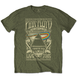T-shirt Pink Floyd pour homme - Design: Carnegie Hall Poster