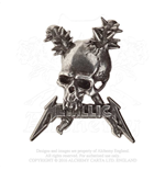 Épinglette Metallica - Design: Damage including skull