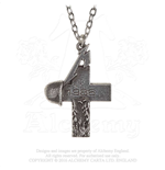 Pendentif Metallica - Design: Master of Puppets 1986 Cross