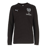 Sweat-shirt Arsenal 2017-2018 (Noir)