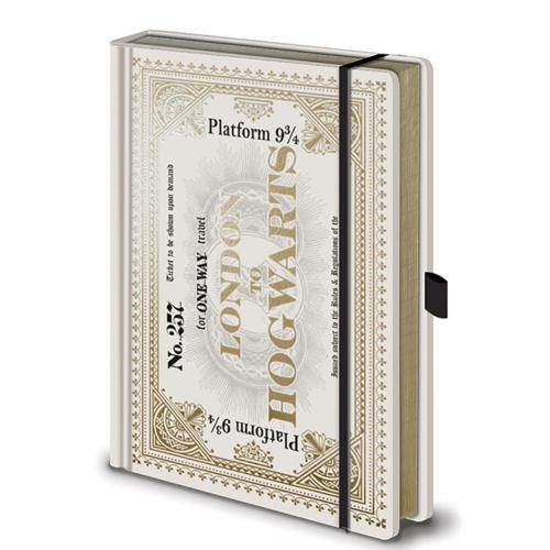 Cahier Harry Potter - Ticket
