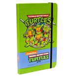 Les Tortues Ninja carnet de notes Retro