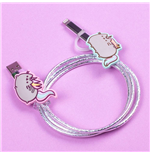 Pusheen Câble de chargement USB 2in1 Unicorn
