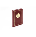 J.K. Rowling's Wizarding World carnet de notes mini Travel Journal Platform 9 3/4