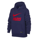 Sweat-shirt Paris Saint-Germain 2018-2019 (Bleu Marine)