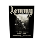 Patch Lemmy - Design: Lived to Win