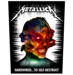 Patch Metallica - Design: Hardwired to Self Destruct