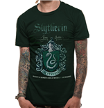 T-shirt Harry Potter - Design: Slytherin Quidditch