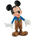 Disney Mickey Mouse & Friends figurine Mickey leather pants 7 cm