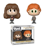 Harry Potter pack 2 VYNL Vinyl figurines Ron & Hermione 10 cm