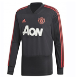 Sweat-shirt Manchester United FC 2018-2019 (Noir)