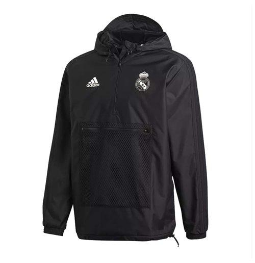 Adidas Veste Ssp Madrid Imperméable noir Real 2018 2019 Achetez zBqwaIRR