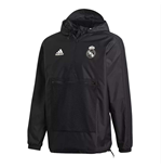 Veste Imperméable Real Madrid Adidas SSP 2018-2019 (Noir)