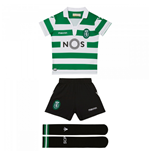 Tenue de football pour enfant Sporting Clube de Portugal 2018-2019 Home