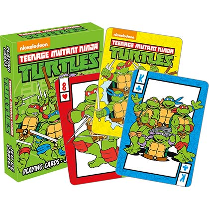 Jeu de Cartes Tortues ninja