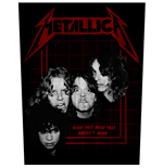 Patch Metallica - Design: Bang That Head