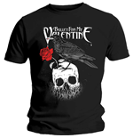 Tee-shirt Homme Bullet For My Valentine: Corbeau