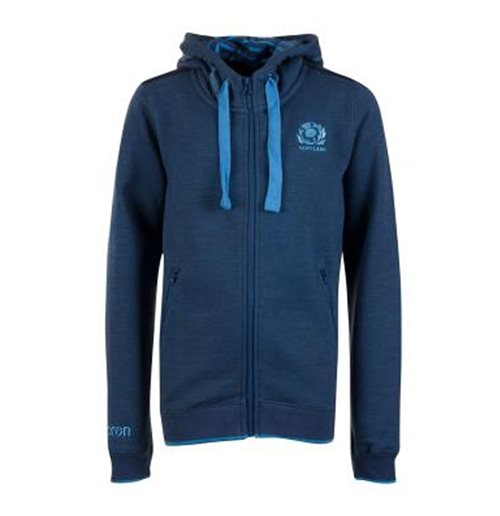 Sweat-shirt Écosse rugby 2018-2019 (bleue)