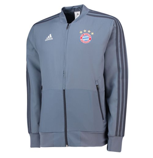 Sweat-shirt Bayern Monaco 2018-2019 (Gris)