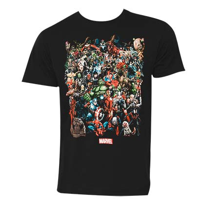 T-shirt Marvel Universe - Personnages