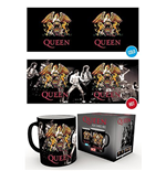 Tasse Thermosensible Queen - Crest