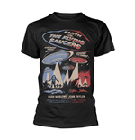 T-shirt Plan 9 - Earth VS. The Flying Saucers EARTH VS. THE FLYING SAUCERS - POSTER