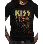 T-shirt Kiss: Skull Line Up