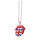 Collier The Rolling Stones: Union Jack Tongue