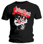 T-shirt Judas Priest pour homme - Design: Breaking The Law