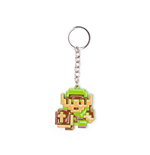 The Legend of Zelda porte-clés métal 3D 8-Bit Link 7 cm