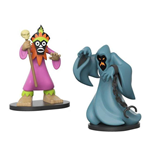 Scooby Doo pack 2 VYNL Vinyl figurines Phantom & Doctor 10 cm