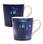 Doctor Who mug effet thermique Galaxy