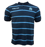 Polo Écosse rugby 2018-2019 (bleue)