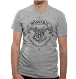T-shirt Harry Potter - Design: Hogwarts One Colour