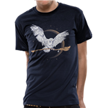 T-shirt Harry Potter - Design: Hedwig Broom